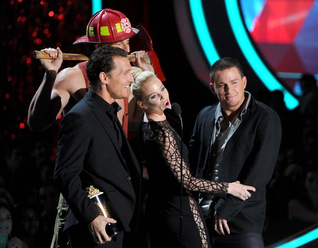 Matthew McConaughey, Elizabeth Banks, and Channing Tatum