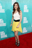 Victoria Justice posed at the 2012 MTV Movie Awards.