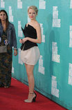 Emma Stone arrived at the MTV Movie Awards.
