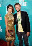 Nikki Reed and Paul McDonald posed together on the red carpet at the MTV Movie Awards.