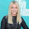 Julianne Hough Black Cutout Dress MTV Movie Awards 2012