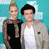Elizabeth Banks & Josh Hutcherson Pictures MTV Movie Awards