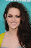Kristen Stewart smiled for the camera.