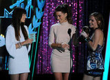 Emma Watson, Kate Beckinsale and Jessica Biel all looked gorgeous on stage.