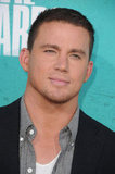 Channing Tatum at the MTV Movie Awards.