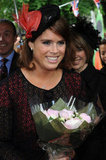 Princess Eugenie smiled with flowers at the Big Jubilee Lunch street party.