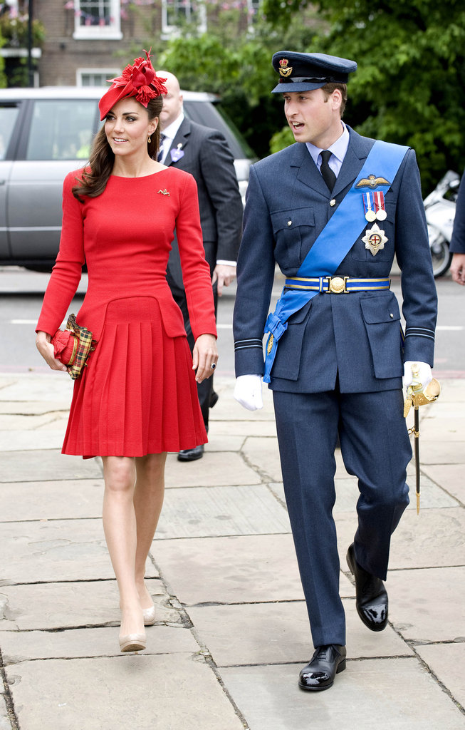 Prince William and Kate Middleton arrived for the event.