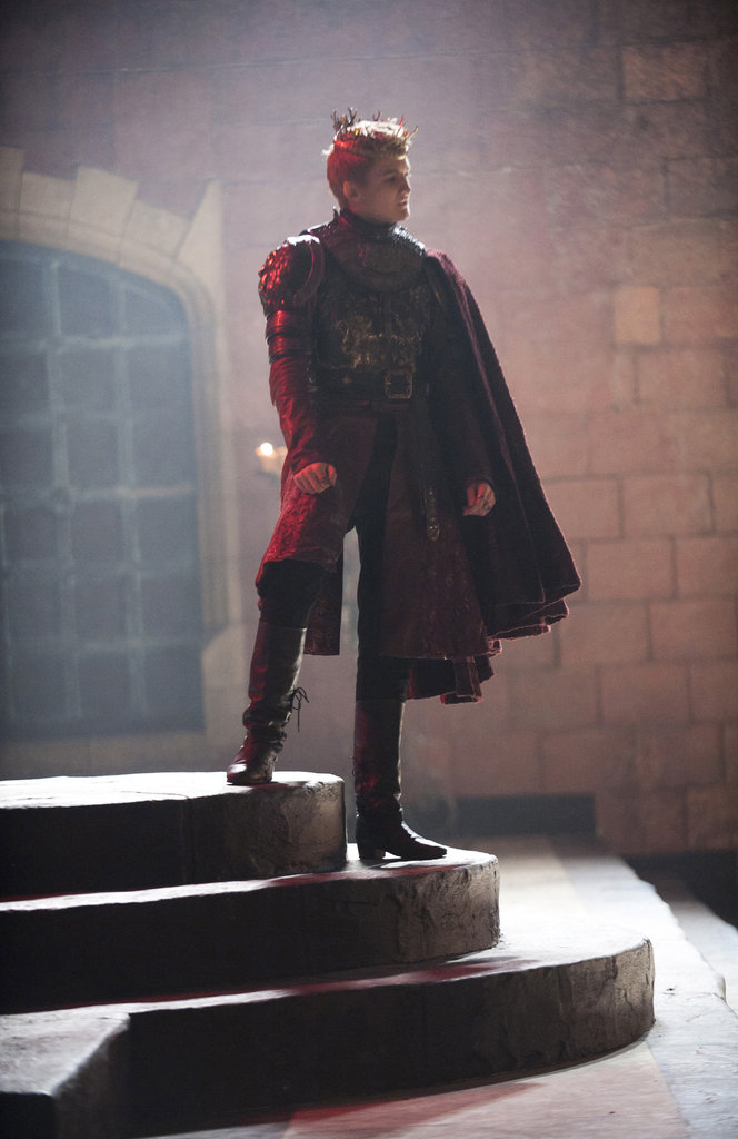 Jack Gleeson as Joffrey on Game of Thrones.