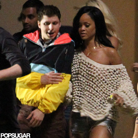 Rihanna reported to the set of The End of the World in New Orleans.