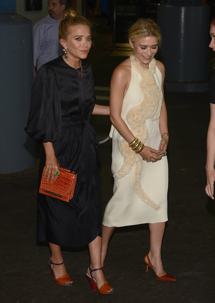 Mary-Kate Olsen and Ashley Olsen attended the Fresh Air Fund's Spring Gala in NYC where they were honored.