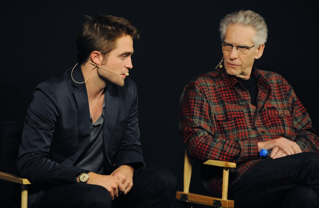 Robert Pattinson Sits Down For an Intimate Chat