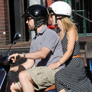 Jason Sudeikis and Olivia Wilde on a Vespa Pictures