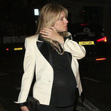 A Very Pregnant Sienna Miller Out And About In London With Tom Sturridge