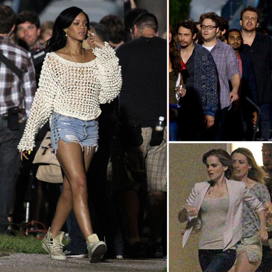 Rihanna and Emma Watson Have a Work Party With Jason, James, and More