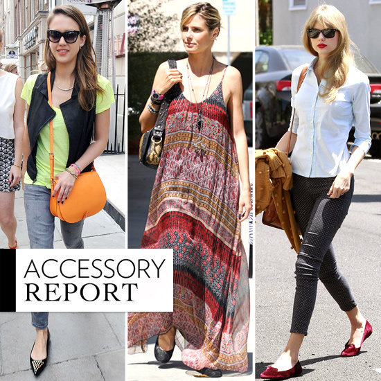 See how Jessica, Heidi, Taylor, and others wear their stylish Summer flats.