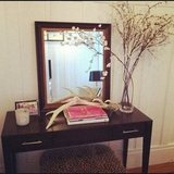 Edgy + Pretty Entry Table