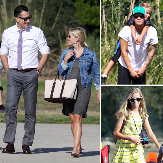 Pregnant Reese Spends a Fun-Filled Day With Jim, Ava, Deacon, and Ryan