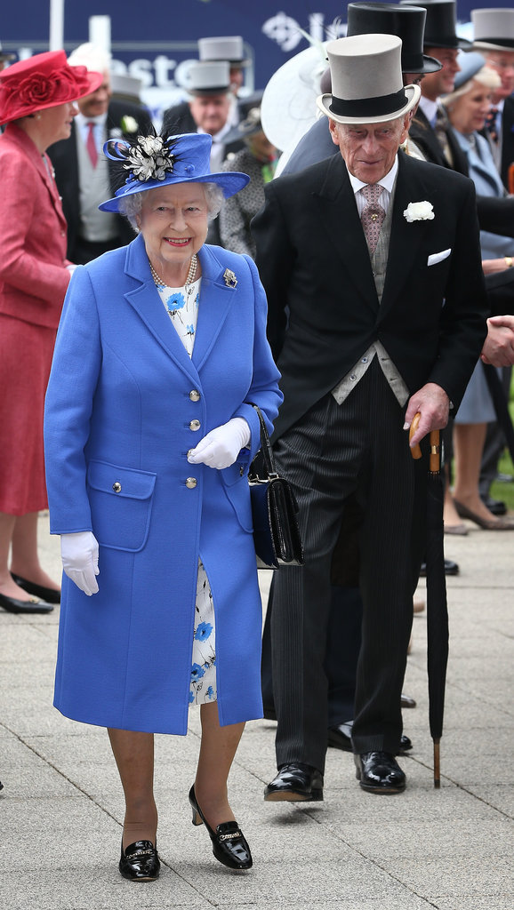 The royal couple were too cute at the Diamond Jubilee Derby.