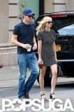 Kirsten Dunst and Garrett Hedlund Settle in For a Stay in the City