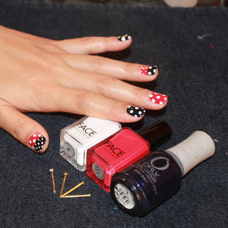 Nautical Nail Art Tutorial by Naomi Yasuda