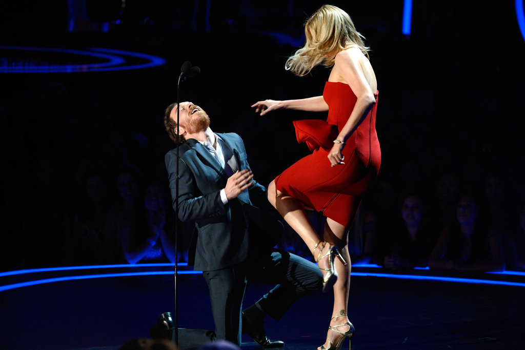 Best Throwdown: Charlize Theron and Michael Fassbender