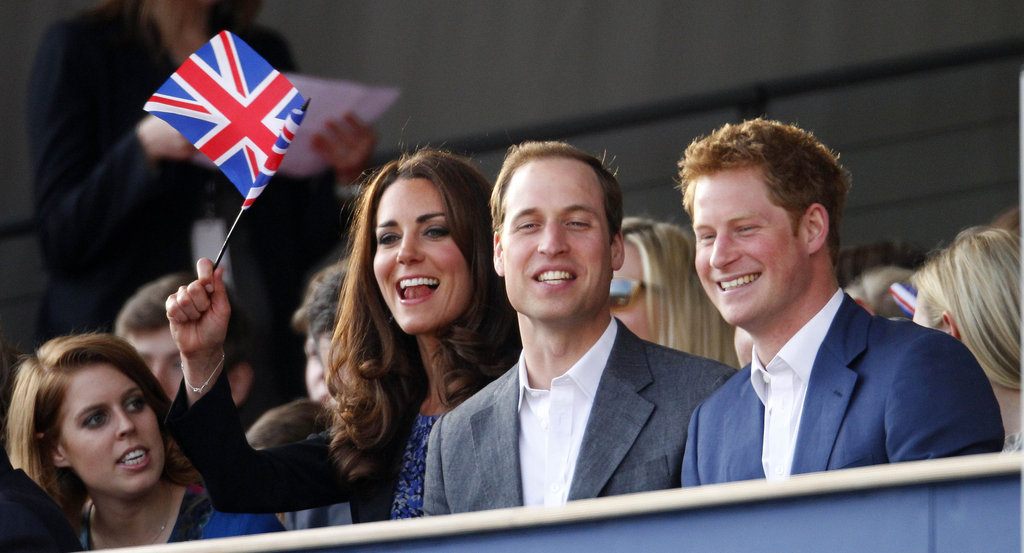 Kate Middleton, Prince William, and Prince Harry all had a laugh at the Diamond Jubilee concert.