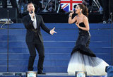 Gary Barlow and Cheryl Cole performed together for the Queen's Diamond Jubilee concert.