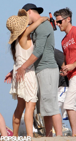 Channing Tatum and Jenna Dewan kissed.