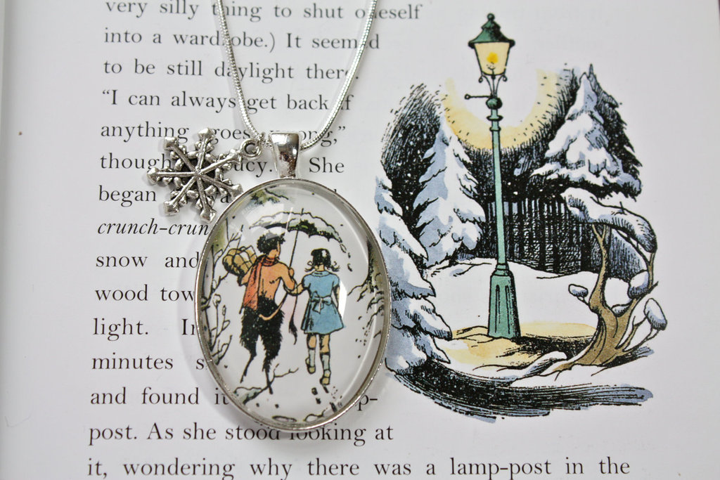 Book Page Necklaces