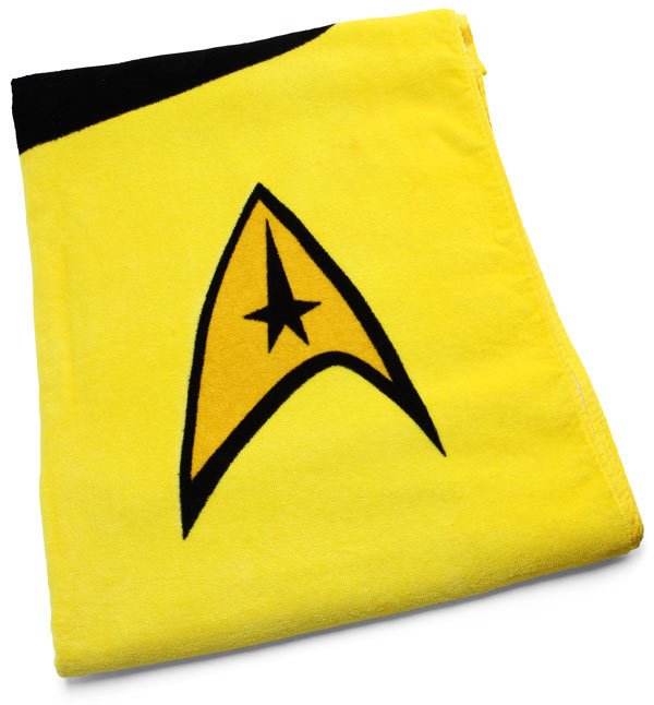 Star Trek Towel ($30)