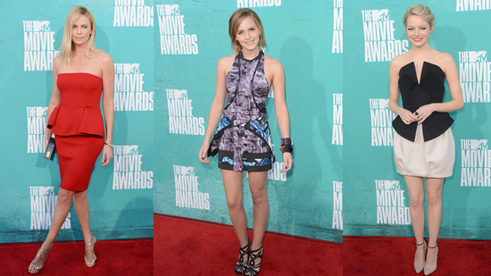 The Must-See List of Best-Dressed Celebs at the 2012 MTV Movie Awards!
