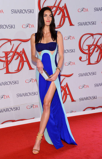 Hilary Rhoda(2012 CFDA Fashion Awards)