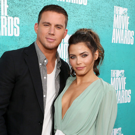 Channing Tatum and Jenna Dewan Pictures at 2012 MTV Movie Awards