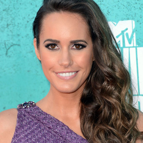 Louise Roe at the MTV Movie Awards Wearing a Smoky Eye