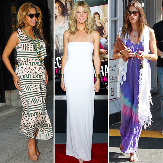 7 Celebrity Maxi-Dress Looks to Mimic All Summer Long!