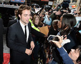 Robert Pattinson Premieres Cosmopolis and Praises Kristen
