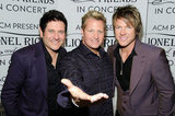 Gary LeVox, Jay DeMarcus, and Joe Don Rooney of Rascal Flatts
