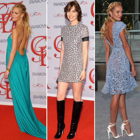 2012 CFDA Awards: Zoom In On What The Model Pack Wore!