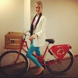 Doutzen Kroes showed off her hot new ride. Source: Instagram user doutzenkroes1