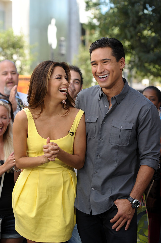 "Despite past rumors that they were a couple, Eva Longoria and Mario Lopez are actually more like family. Eva considers Mario a brother, while Mario shows support for his ""girl"" Eva on Twitter."