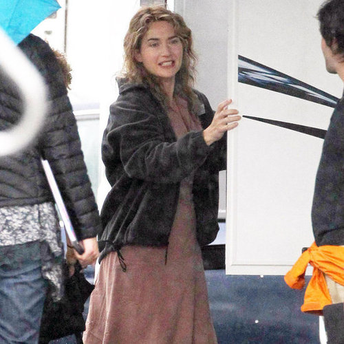 Kate Winslet Filming Labor Day Pictures in Boston
