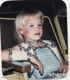 Kristen Bell showed off a childhood photo. Source: WhoSay  user Kristen Bell