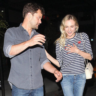 Diane Kruger and Joshua Jackson Dinner Date Pictures in LA