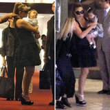 Mariah Carey Lands in Nice With Babies Roc and Roe