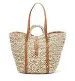 We've found the ultimate vacation tote in this straw basket-style bag. Throw in your towel, sunscreen, and sunglasses with room to spare. Zara Large Basket Bag ($30)