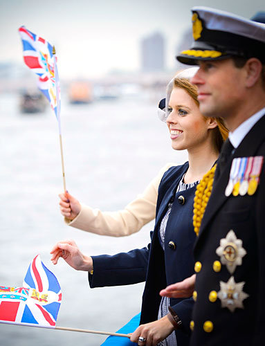 Princess Beatrice Gets Patriotic