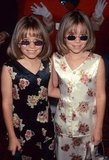 Mary-Kate Olsen and Ashley Olsen sported some shades for the Audrey Hepburn Hollywood for Children Family Film Festival in 1997.