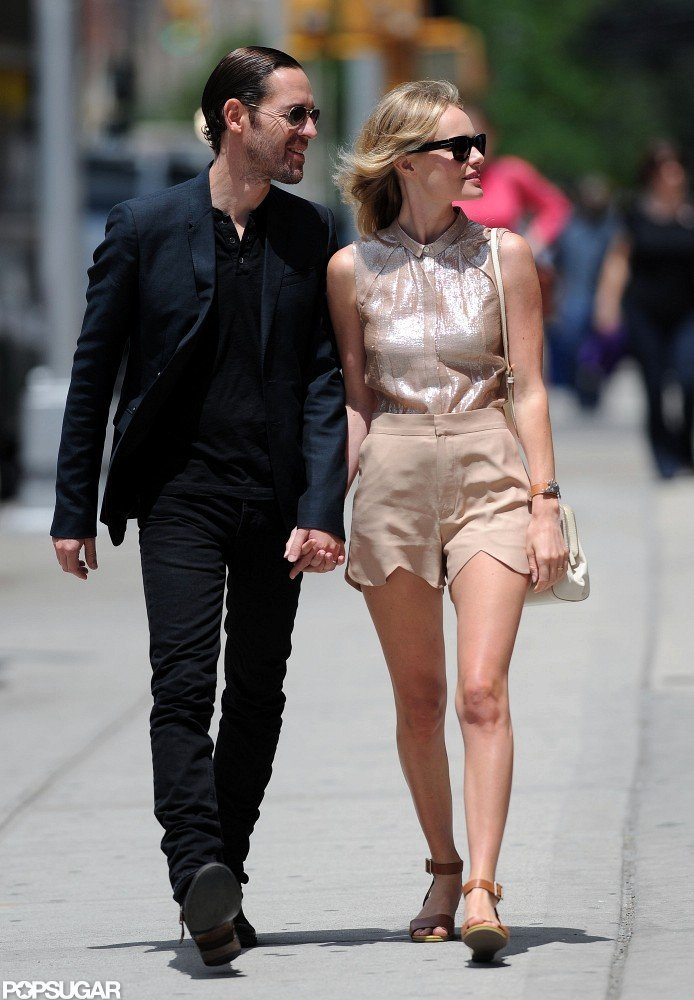 Kate Bosworth and Michael Polish hit the streets of NYC holding hands.