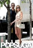 Kate Bosworth and Michael Polish took a stroll around NYC.