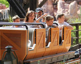 Harper Beckham Dons Minnie Mouse Ears at Disney With David, Posh, and the Boys